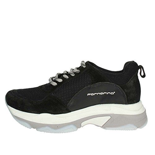 c1b976d5d8db46 Fornarina Chaussures Femme Sneakers DPE18SUPERBLACK Taille 40 Black