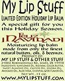 by My Lip Stuff My Lip Stuff-FELIZ NAVIDAD (Mexican Hot Chocolate Flavor) LIMITED EDITION HOLIDAY LIP BALM by My Lip Stuff Bild
