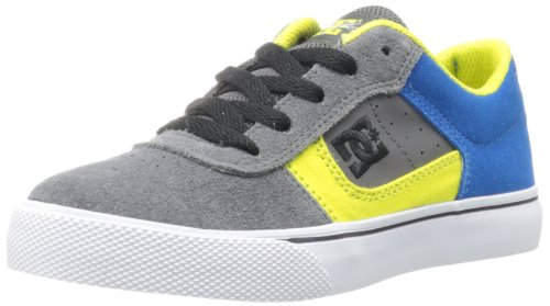 DC COLE PRO YOUTH SHOE 303323B-GB5, Unisex-Kinder Skateboardschuhe, Grau (GREY/BLUE), EU 35 (Dc Cole)
