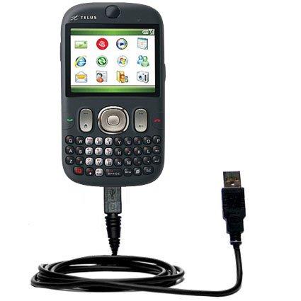 Klassisches Direkt-USB-Kabel für HTC S640 mit Power Hot-Sync und Ladekapazitäten Verwendet die TipExchange Technologie
