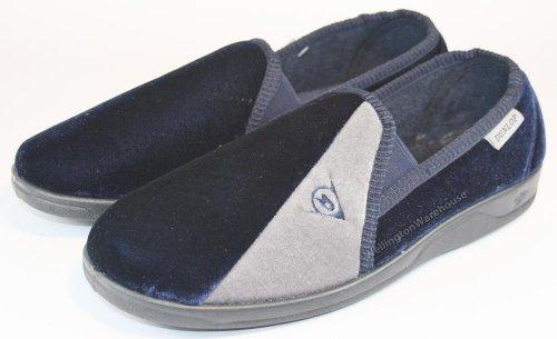 Dunlop  Dunlop 7789 Slipper, Bottes Slouch homme Bleu - Bleu marine