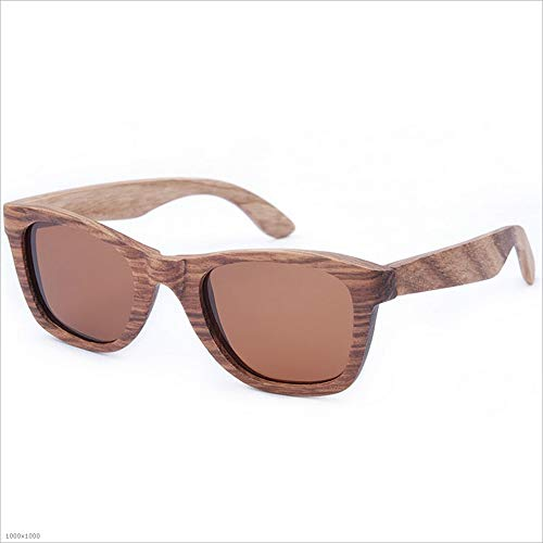 Yiph-Sunglass Sonnenbrillen Mode Katzenaugen Holz Sonnenbrille Handmade UV Schutz Sonnenbrille Strand Fahren Urlaub Angeln Party für Männer