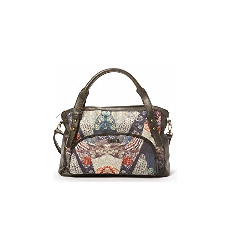 Sac Shopping Smash Bronze PANDORA Toile Et Simili Cuir PANDORA BLACK