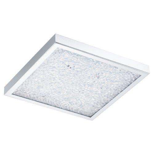 Eglo Cardito - Lámpara (Dormitorio, Cocina, Cromo, Transparente, 3W, 31W, LED)