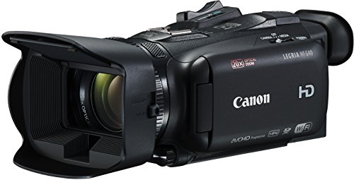 Canon Legria HF G40 Videocamera Digitale Full HD, Zoom 20x, Nero/Antracite