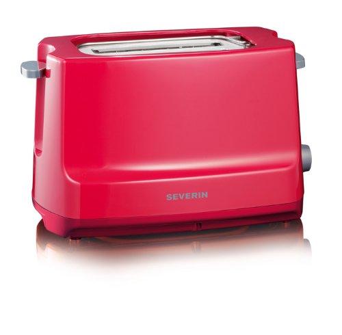 Severin AT 2284 Automatik-Toaster Start, rot/grau