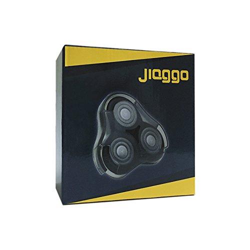 Jiaggo Cabezales de Afeitado Reemplazo RQ11 para Philips Serie RQ12 RQ11 RQ10 9000 7000 S5420 S5110 S7370 con Cepillo de limpieza
