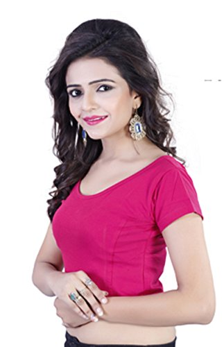 Fressia Readymade Stretchable Saree Blouse For Women  available at amazon for Rs.277