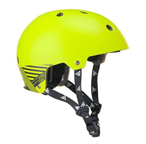 K2 Jungen Helm JR Varsity - Gelb-Grau - S - 30A1203.1.1.S -