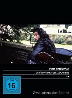 Der Kontrakt des Zeichners. Zweitausendeins Edition Film 23.