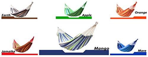 Beach & Pool HS4, Single Hängematte , Farbe: Mango