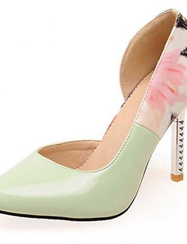 WSS 2016 Chaussures Femme-Habillé / Décontracté / Soirée & Evénement-Noir / Rose / Blanc-Talon Aiguille-Talons / Bout Pointu-Talons-Similicuir pink-us5 / eu35 / uk3 / cn34