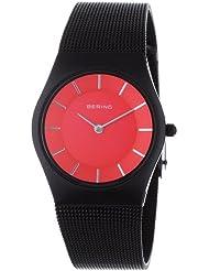 Bering Time - 11930-229 - Montre Femme - Quartz Analogique - Bracelet Acier Inoxydable Noir