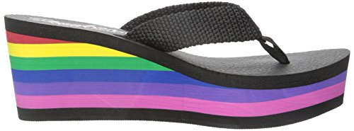 Nero Pinups Pinze Party Femme Crasher Skechers Arcobaleno wxPY6vtdq