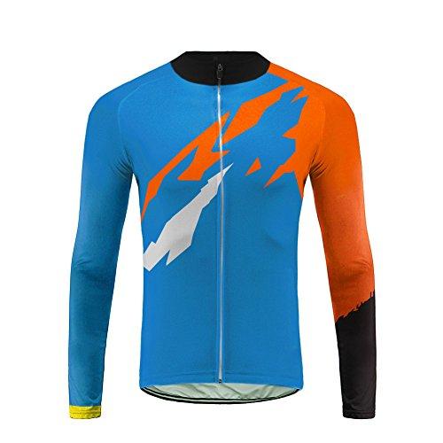 Uglyfrog Abbigliamento Ciclismo Uomo Ciclismo Maglia Termico Bicicletta Lunga Manica Camicia Vello Inverno Style ZRMX01F