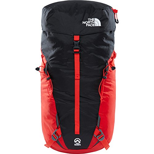 North Face Cobra 60, Mochila Unisex Adultos, Rojo (Fiery Red/Tnf Black), 22x34.5x50 cm (W x H x L)