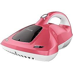 Aspirador de Mano Limpiador de Cama con luz UV Limpiador de Cama - Mata el 99% de los ácaros del Polvo/chinches y bacterias con los Rayos UV.