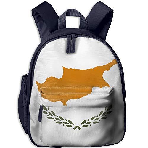 Flag of Cyprus Kid and Toddler Student Backpack School Bag Super Bookbag