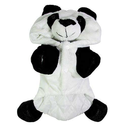 Xinwcang Haustier Kostüm für Hunde Halloween Panda Hundekostüm Kleidung für Weihnachten Kleid Karneval Hundemantel S