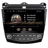 10.1Inch Android 8.1 Autoradio für Honda Accord 2003 2004 2005 2006 2007 Auto Navigation Stereo mit GPS Octa Core 32 GB ROM WiFi 3G RDS MirrorLink FM Bluetooth Unterstützung für SWC