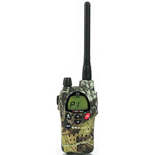 Midland G9 Plus C923.12 - Radio comunicatore bibanda, Mimetico