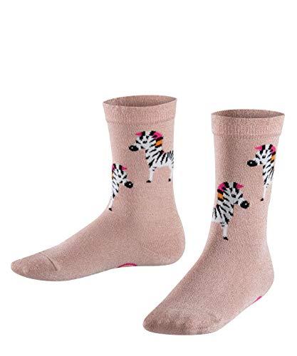 Blossom Socken (FALKE Mädchen Zebra Socken, Rosa (BLOSSOM 8645), 31-34)