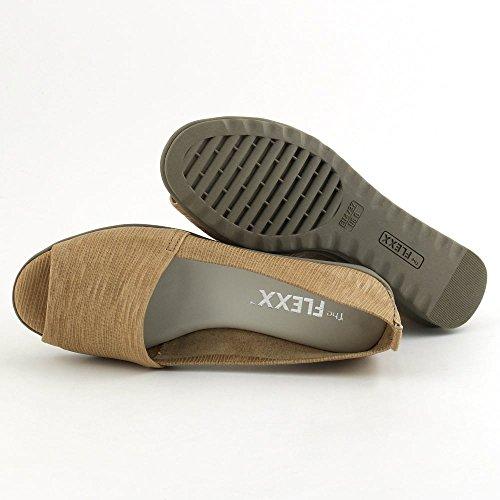The Flexx Fantastic Cesar Ladies Super Soft Sandal Kamel