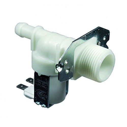 Magnetventil Waschmaschine Spülmaschine Candy Rex Ariston whirloool 1VIA 180° 12mm