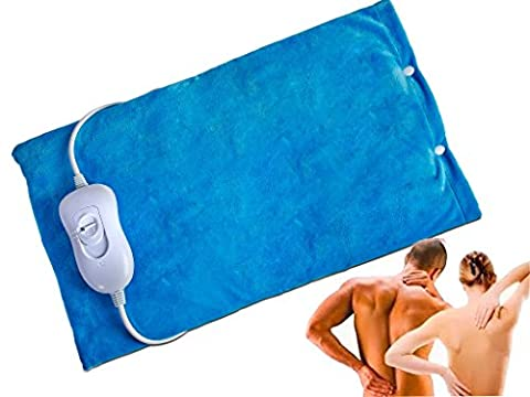 FiNeWaY@ ELECTRIC HEATED PAD THERMAL BACK NECK BODY MAT PAIN RELIEF THERAPY 40W