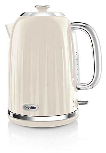 Breville VKJ956 Impressions Kettle, 1.7 L - Cream Best Price and Cheapest