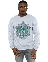 Harry Potter Hombre Slytherin Distressed Crest Camisa De Entrenamiento