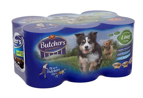 Butchers Natural Nutrition Wet Dog Food with Loaf in Jelly 2340 g (Pack of 6)
