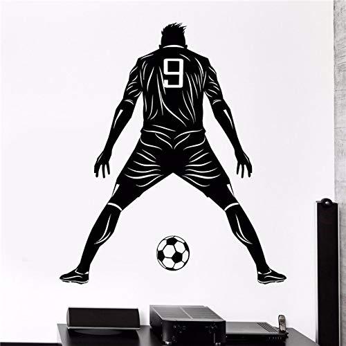 Dongwall Wanddekoration Spieler Sport personalisierte Nummer Design Raumdekoration Vinyl Kunst abnehmbare Poster Moderne Verzierung