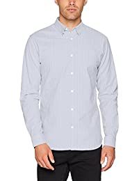 SELECTED HOMME Herren Businesshemd Shdonevictor Shirt Ls Noos
