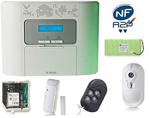 Kit centrale di allarme senza fili Kpm30 Gsm Video Powermaster