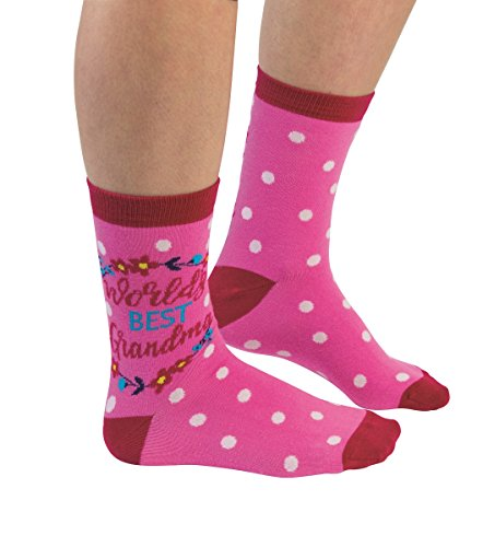 Cockney Spaniel Fun Socks for Women World's Best Grandma Socks