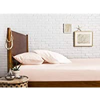 """3-Piece 1000 Thread Count 100% Egyptian Cotton – Sateen Weave, Taupe Twin XL -Size Premium Fitted Sheet Set, deep pocket fits mattress upto 18"""""""