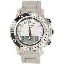 Tissot Sea-Touch T02642011031000 - Reloj correa de acero inoxidable