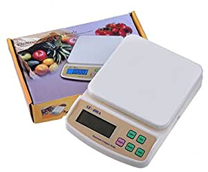 SF-400A 10 Kg/1 g Digital with Backlight Electronic Weighing Scale for Household Kitchen