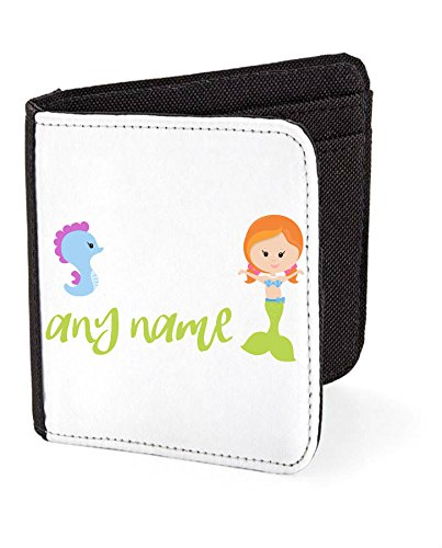 personalised-mermaid-m4-green-tail-with-redhead-seahorse-any-name-wallet