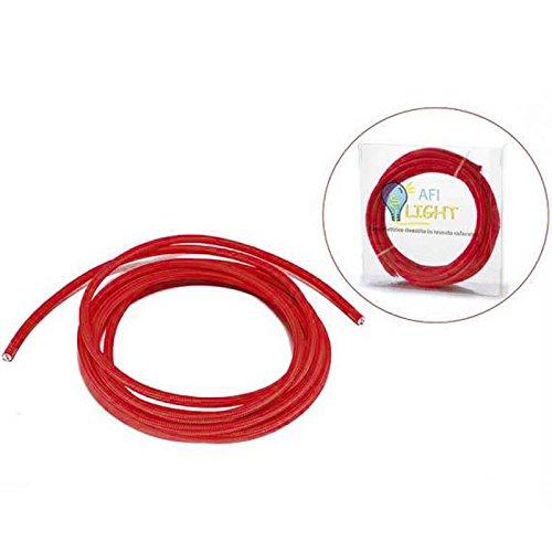 2x0.75 Cable eléctrico bipolar 5 m cubierto lámparas