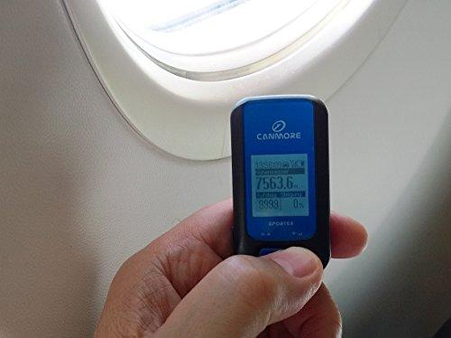 GP-102+ Dispositivo multiuso GPS, Set con caricabatterie USB e Fascia da braccio sportiva, Sport Tracker, Registratore GPS, 300.000 punti di via