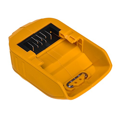 USB Stromquelle für DEWALT DCB090 14,4 V 18 V 20 V XR MAX Li-Ion-akku-ladegerät Unterstützung Handy - Volt Usb Dewalt 20