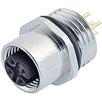 Binder 09-3432-88-04 Sensor-/Aktor-EinbausteckverM12 Buchse, Gerade Polzahl: 4 1St.