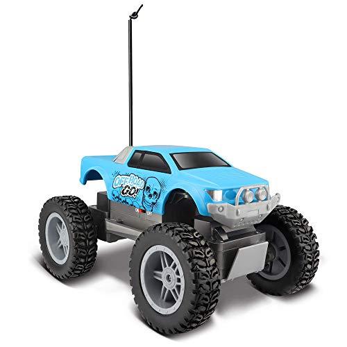 Bauer 581762 Maisto Tech R/C Off Road Go RTR: Ferngesteuertes Auto in Monstertruck-Ausführung, 21 cm, farblich sortiert