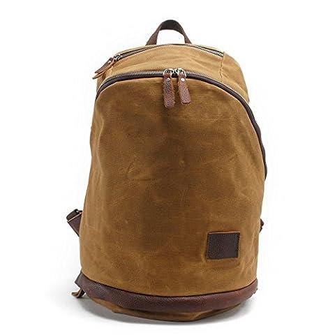Neu, Retro, Persönlichkeit, Mode, Reisetasche, Rucksack, Schultasche, Segeltuch wasserdichte Tasche, B0075