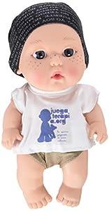 Muñeco Baby Pelón Hombre de Negro - Juegaterapia
