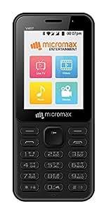 Micromax Bharat 1, V407 (Single Sim 4G), Black