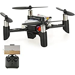 Goolsky Linxtech DM002 (WH) Wifi FPV 0.3MP Cámara DIY Mini RC Quadcopter con función de retención de altitud (versión de kit)