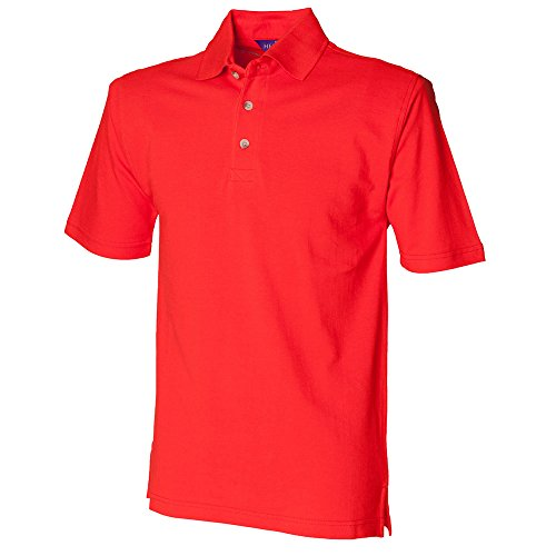 HenburyHerren T-Shirt Gelb - Bright Orange